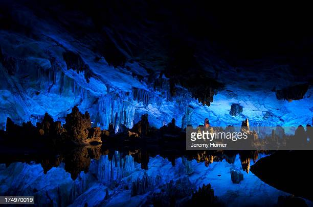 Inside Reed Flute Cave