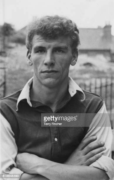 Inside right Jimmy Belcher of Crystal Palace FC 13th August 1954