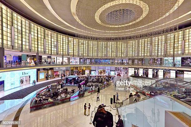 Inside shopping in The Dubai Mall