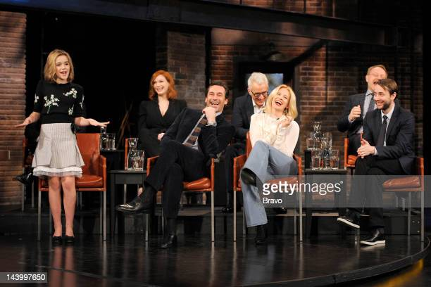 STUDIO Inside the Actors Studio Pictured Kiernan Shipka Christina Hendricks Jon Hamm John Slattery January Jones Jared Harris Vincent Kartheiser