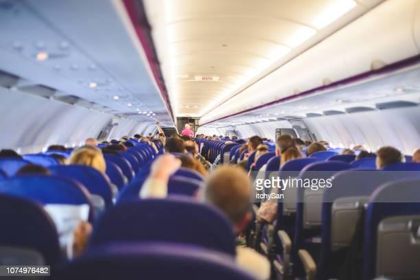 in het vliegtuig - vol fysieke beschrijving stockfoto's en -beelden