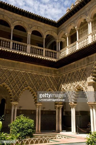 Inside the Alcazar Seville Spain