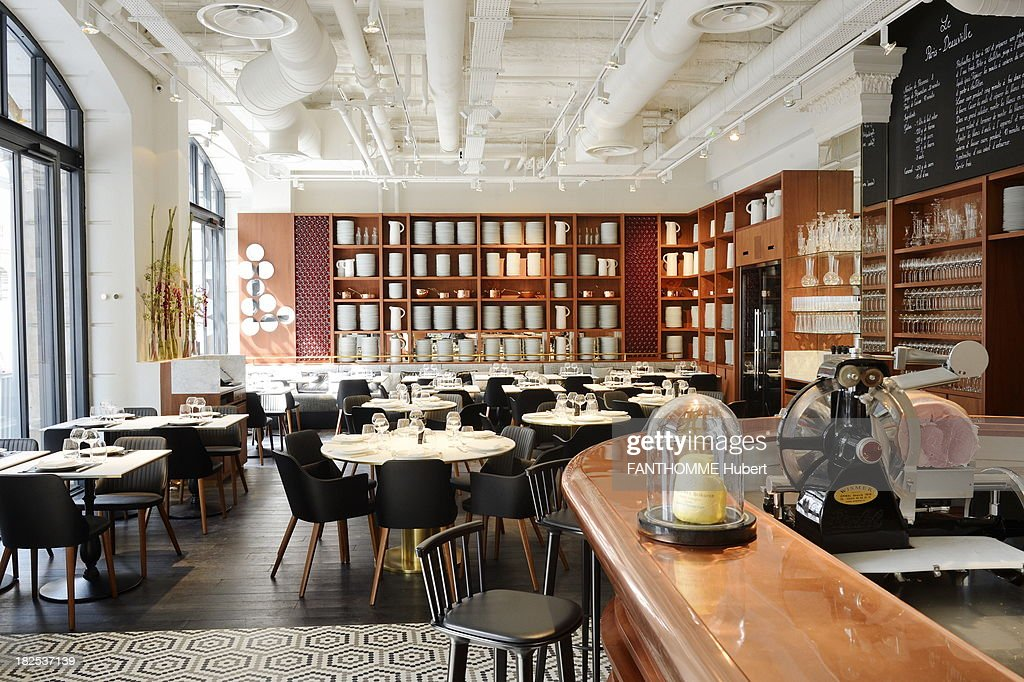 inside the bistro dinnning area of le lazare the new restaurant of news photo getty images. Black Bedroom Furniture Sets. Home Design Ideas