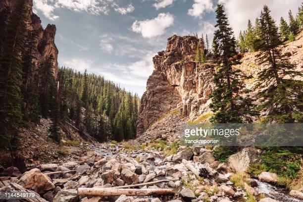 ワイオミングの渓谷の中で - ワイオミング州 ストックフォトと画像