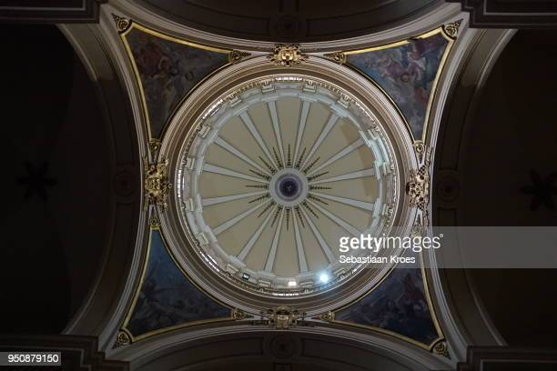 Inside the Cathedral of Bogota, Cupola, Colombia