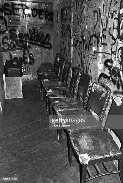 S Photo of CBGB'S Inside the CBGB's dressing room