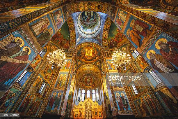 Inside the Church of the Savior on Spilled Blood, St. Petersburg