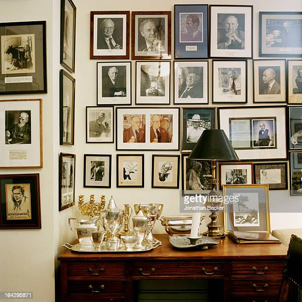 Inside the Coffee House is photographed for Vanity Fair Magazine on March 14, 2012 in New York City. The club was founded by Vanity Fair?s first...