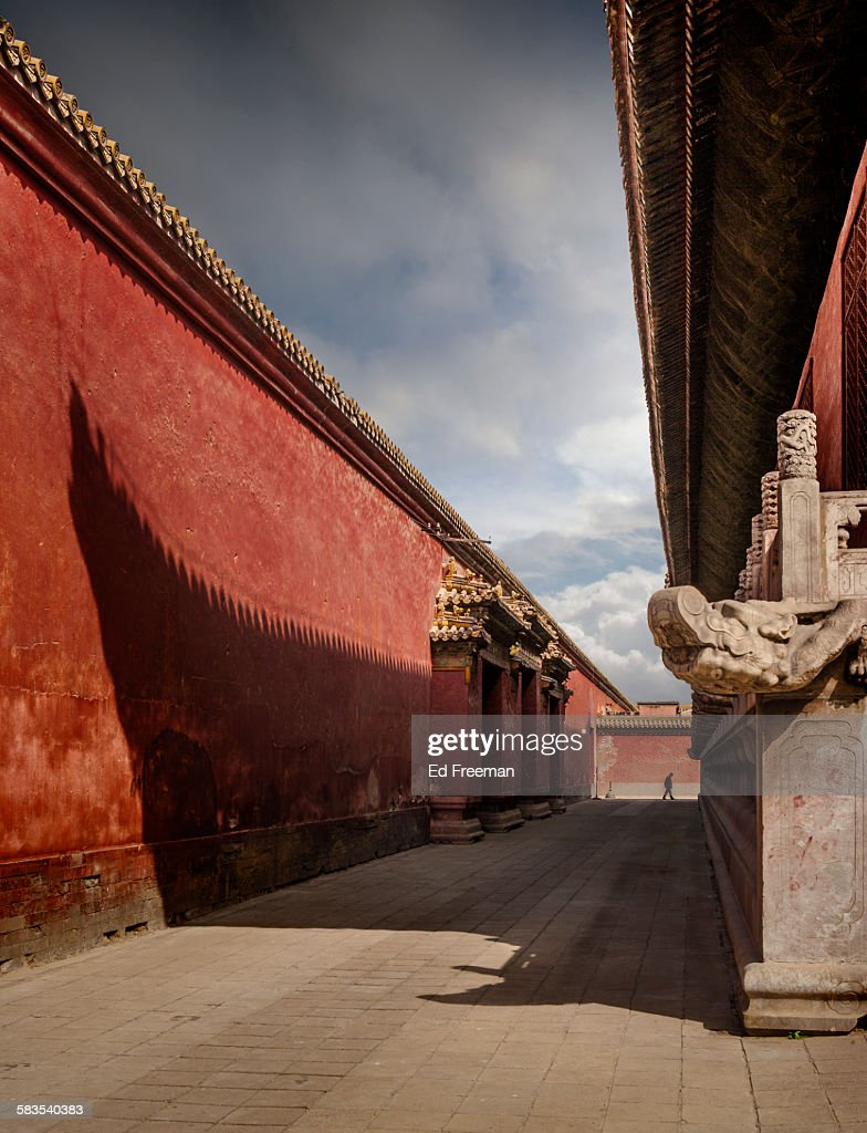 Inside the Forbidden City, Beijing : Stock Photo