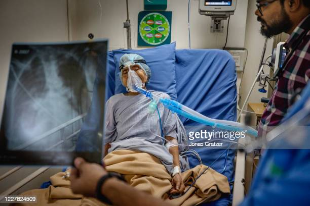 Inside the Fortis hospital, in Kolkata, an elderly woman has been hospitalized urgently due to a lung infection. When the air is more polluted the...