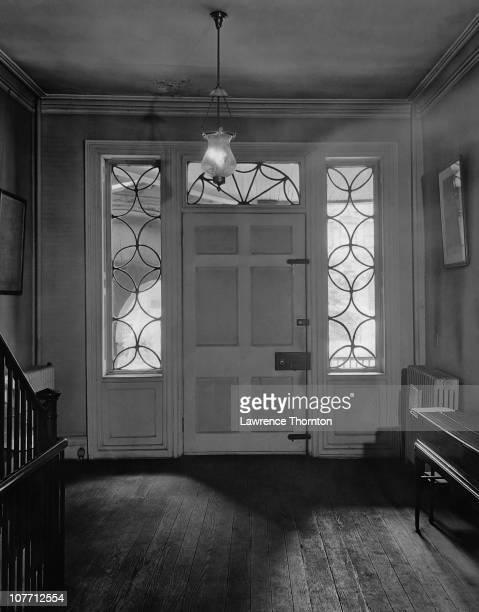 Inside the hallway of American statesman Alexander Hamilton's home The Grange in New York City circa 1950