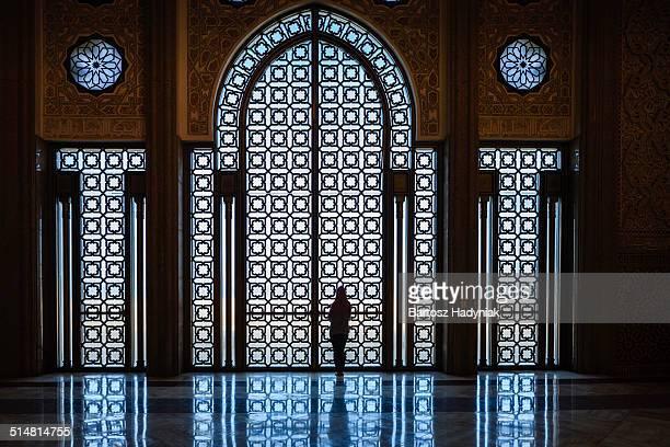 Inside The Hassan II Mosque, Casablanca