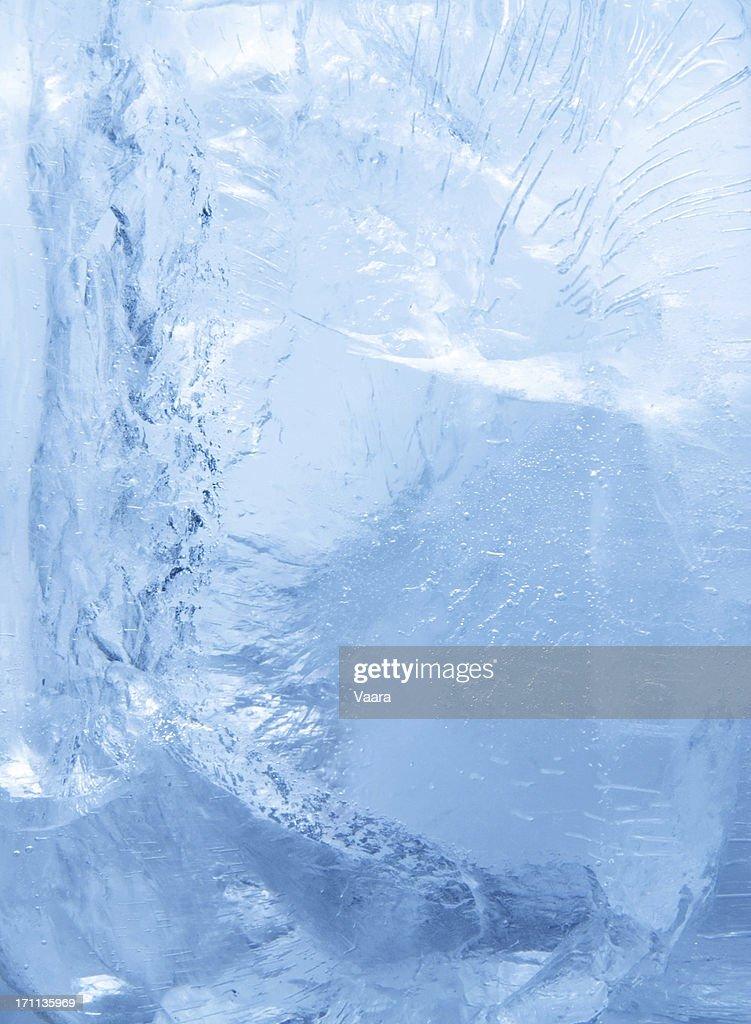 Inside the Ice : Stock Photo