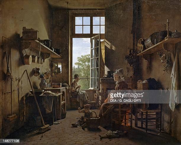Inside the kitchen by Martin Drolling Paris Musée Du Louvre