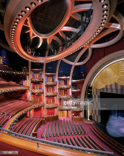 Inside the Kodak Theatre and venue for the 74th Oscars on Hollywood Boulevard March 24 2002. The Oscars are to be held in Hollywood for the first...