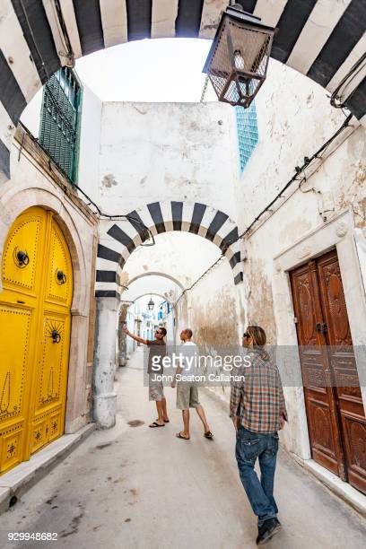 inside the medina of tunis - tunisia stock pictures, royalty-free photos & images