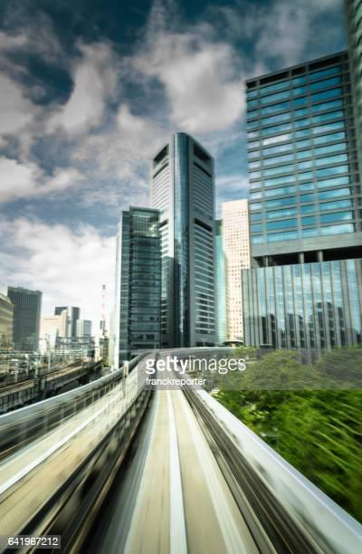 東京鉄道地下鉄内