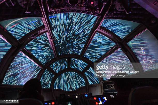 Inside the Millennium Falcon: Smugglers Run at Star Wars: Galaxy's Edge at Disneyland in Anaheim, CA, on Wednesday, May 29, 2019.
