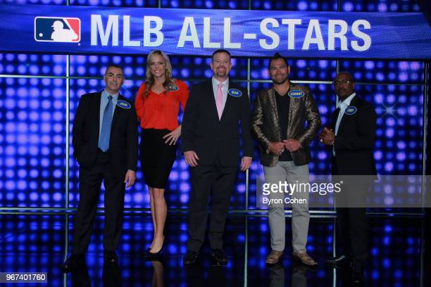 FEUD Inside the NBA vs MLB AllStars and Rashad Jennings vs Team Eve The celebrity teams competing to win cash for their charities feature iconic NBA...