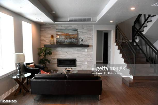 inside the new condos at the former El Jebel Shrine building at 4625 W 50th Ave on January 15 2018 in Denver Colorado The opening of the Mirador at...