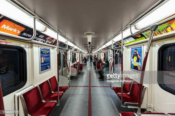 CONTENT] Inside the new TTC subway trains in Toronto Ontario