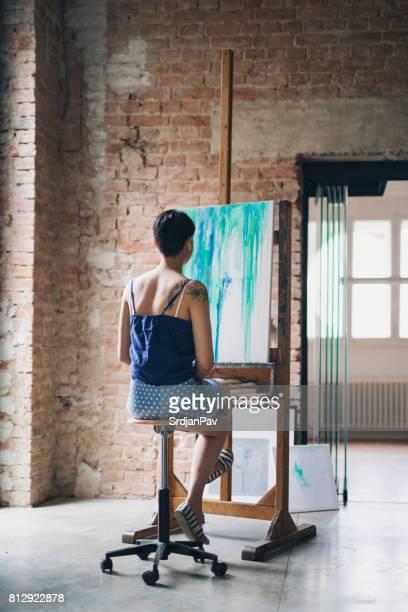 Im Atelier des Malers