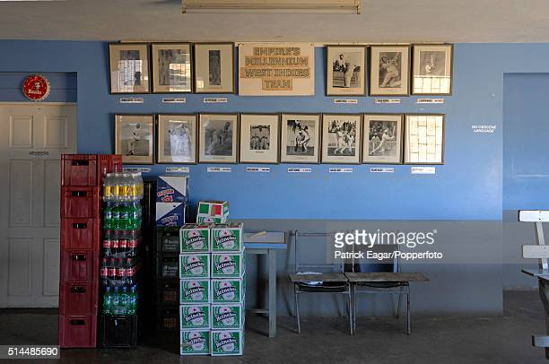 Inside the pavilion of the Empire Cricket Club Bank Hall Barbados 27th April 2007 Former members of the club include players such as Sir Frank...
