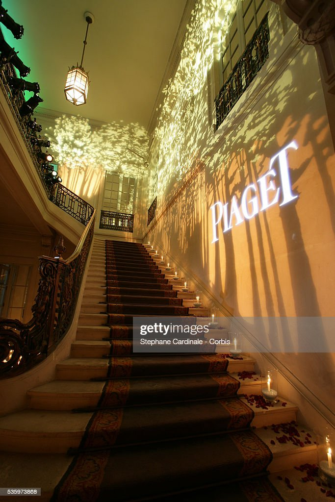Inside the Piaget party.
