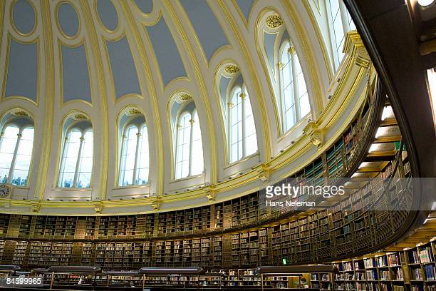 Inside the reading room of the British Museum
