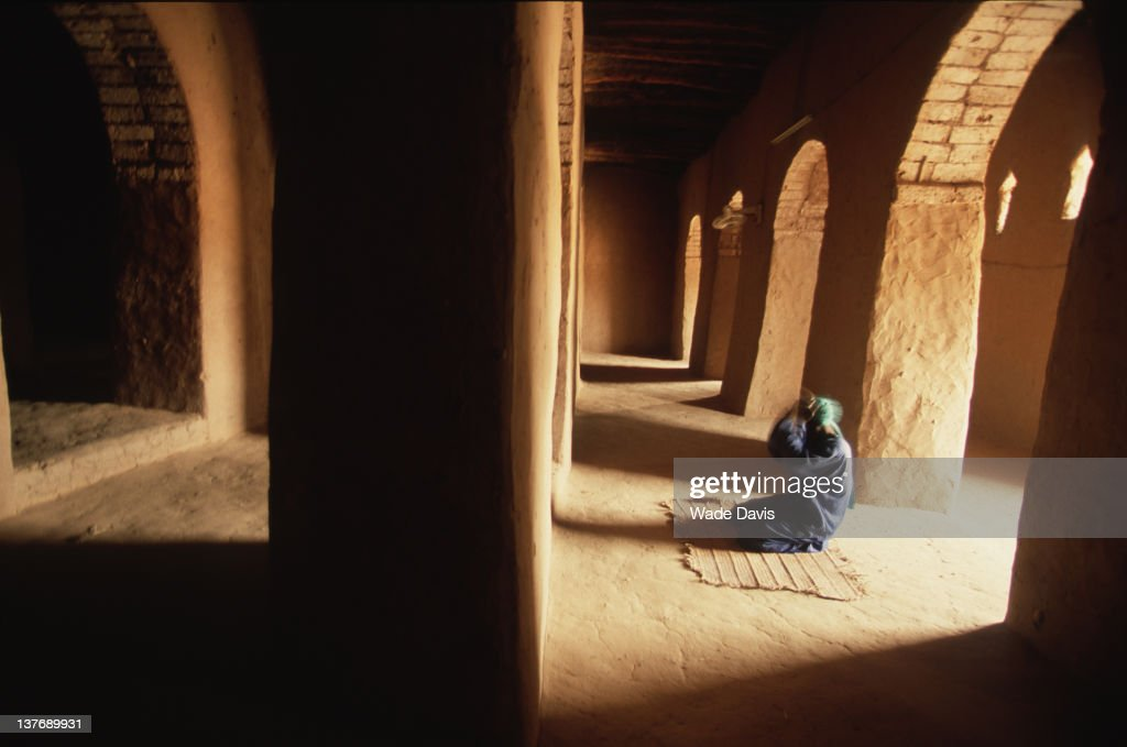 Inside The Sankore Mosque : News Photo
