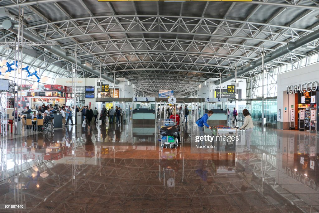 Brussels International Airport Terminal : News Photo