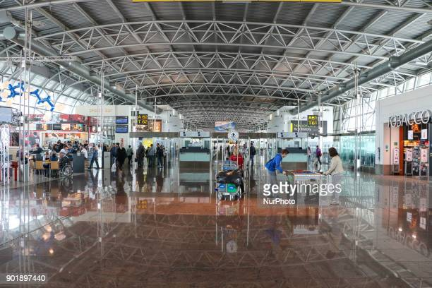 Inside the Terminal of Brussels Airport also called Brussels/Bruxelles Nationaal or Zavantem It is the country's largest airport and one of the 2...