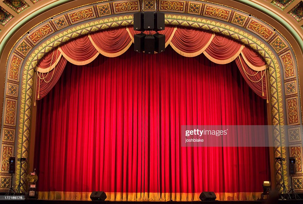 Inside the Theatre : Stock Photo
