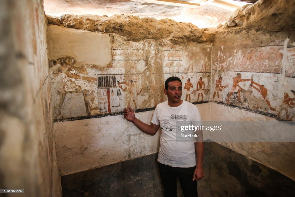 New Old Kingdom tomb discovered in Giza : News Photo