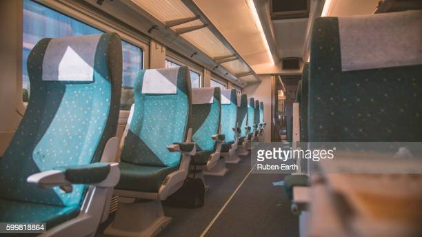 inside the train carriage - carriage stock pictures, royalty-free photos & images