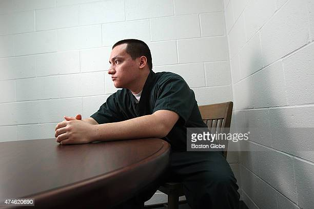 Inside the visiting room at the SouzaBaranowski Correctional Center Marco Flores was 17 years old when he killed the man who had been molesting him...