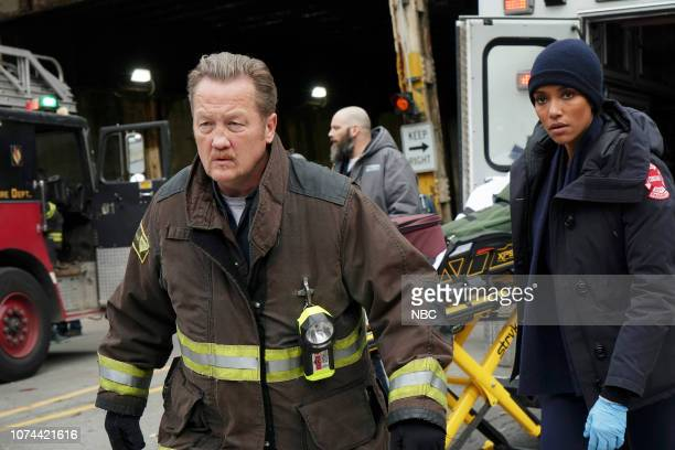 FIRE Inside These Walls Episode 710 Pictured Christian Stolte as Randy Mouch McHolland Annie Ilonzeh as Emily Foster
