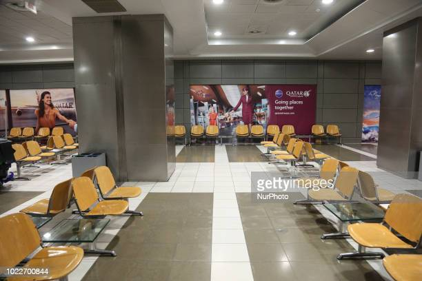 Inside Thessaloniki International Airport quotMacedoniaquot in Greece The area of the gates after the recent renovation from the new German owner...