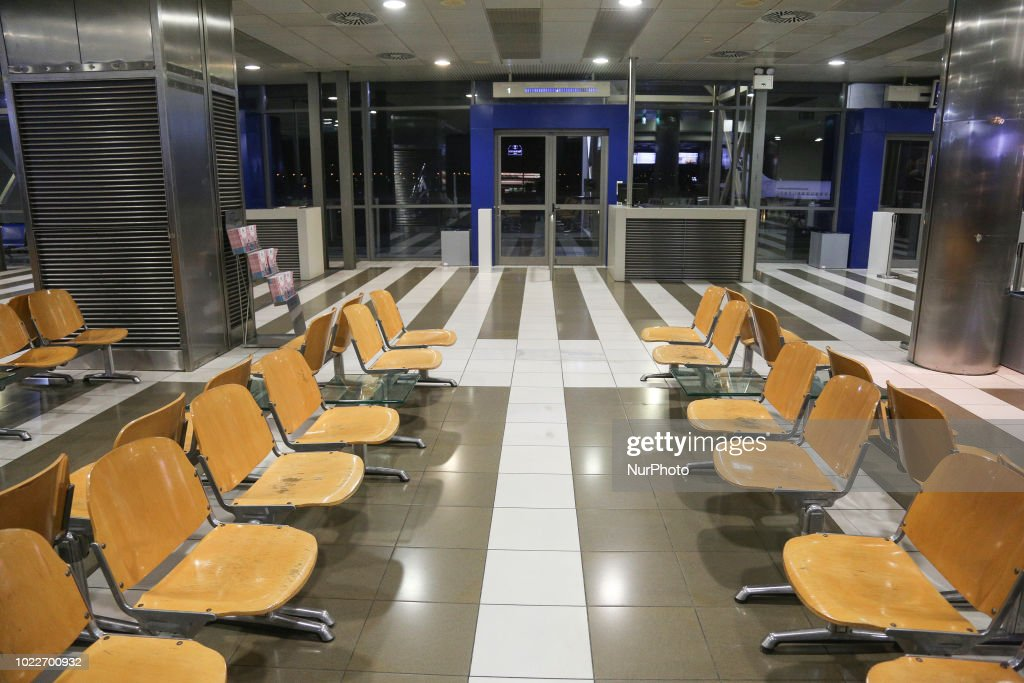 Thessaloniki International Airport, Greece : News Photo
