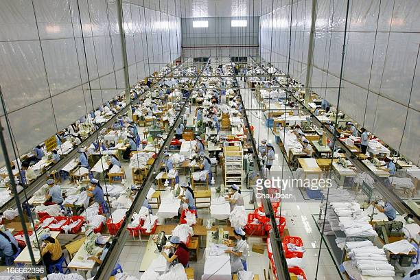 Inside Tos Gamex company in the Bien Hoa II Industrial Zone..