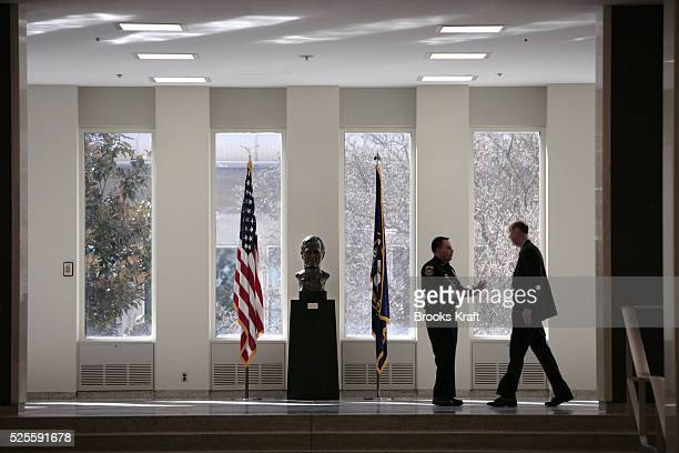 Inside US Central Intelligence Agency headquarters in Langley Virginia March 3 2005