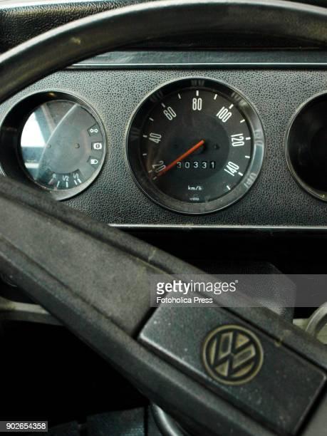 Inside view of a Volkswagen T2 14 windows Brazilian Kombi