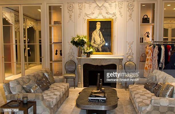 Maison Dior Celebrates Sainte Catherine Avenue Montaigne