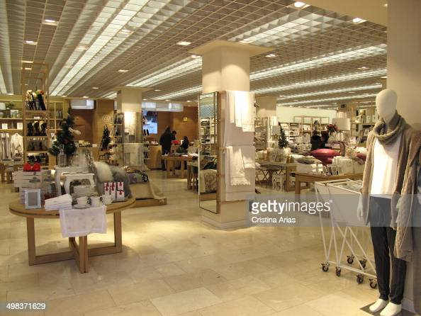 zara home store in salamanca district of madrid pictures getty images. Black Bedroom Furniture Sets. Home Design Ideas