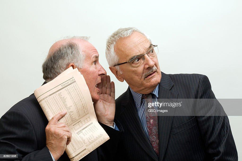 insider trading secrets : Stock Photo