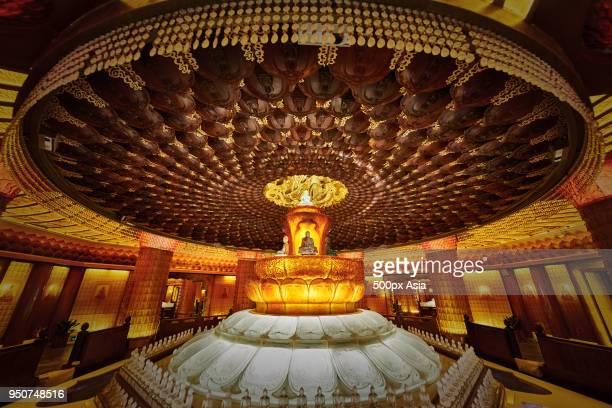 insidetianning pagoda, changzhou, jiangsu, china - changzhou stock pictures, royalty-free photos & images