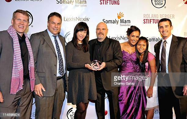 Insigniam Performance founder Jared Greenberg Jeff Greene Mei Sze Greene Executive director Bill Livermore founder Somaly Mam Daly and Executive Vice...