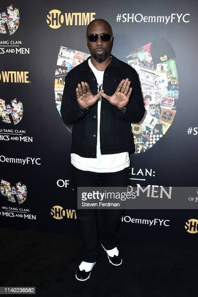 Inspectah Deck attends a WuTang Clan Of Mics and Men FYC Event at Times Center on April 29 2019 in New York City