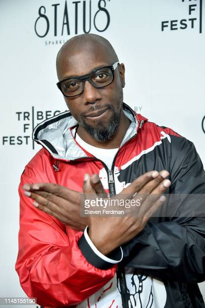 Inspectah Deck attends Tribeca TV WuTang Clan Of Mics And Men 2019 Tribeca Film Festival at Beacon Theatre on April 25 2019 in New York City
