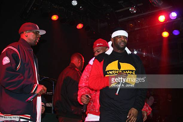 Inspectah Deck Ghostface Killah and WuTang Clan perform live at Toad's Place on January 13 2008 in New Haven Connecticut